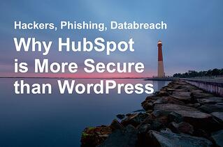 HubSpot more secure than WordPress