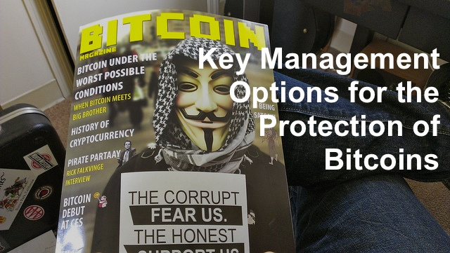 Key Management Options for the Protection of Bitcoins