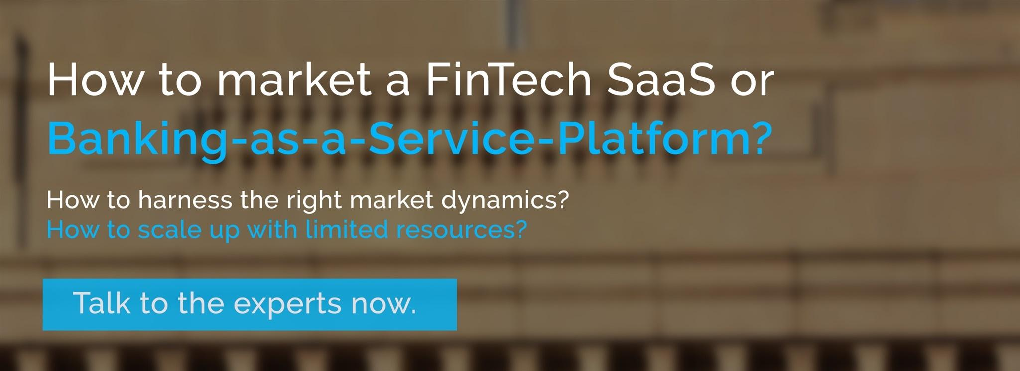 How to market FinTechs